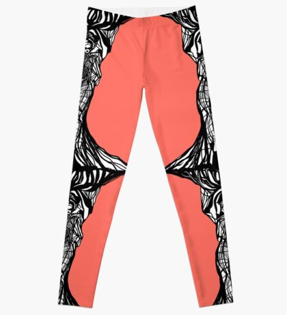 The woman within in living coral Leggings