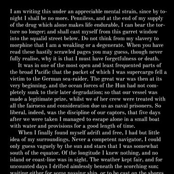 Dagon H.P. Lovecraft First Page by buythebook86