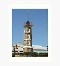 Lighthouse Lookout Art Print