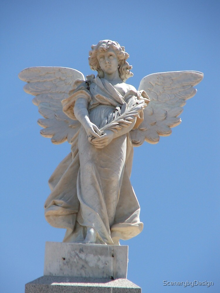 Memorial Angel by ScenerybyDesign
