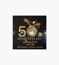 50. Jahrestag Apollo 11 Mondlandung 1969-2019 Galeriedruck