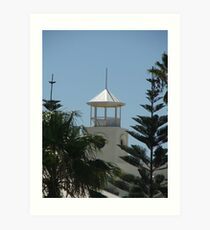 Pine Tower Lookout Art Print