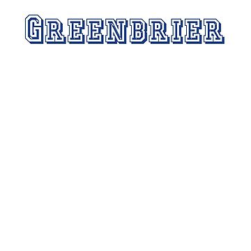 Greenbrier by CreativeTs