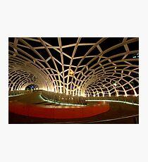 Webb Bridge, Docklands Photographic Print