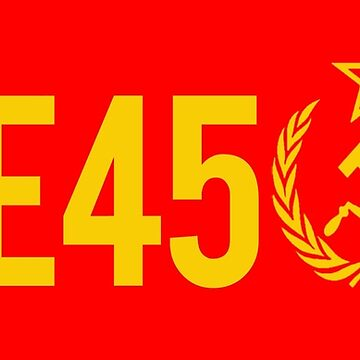 Treason 45 TRE45ON - Soviet Hammer and Sickle by Thelittlelord