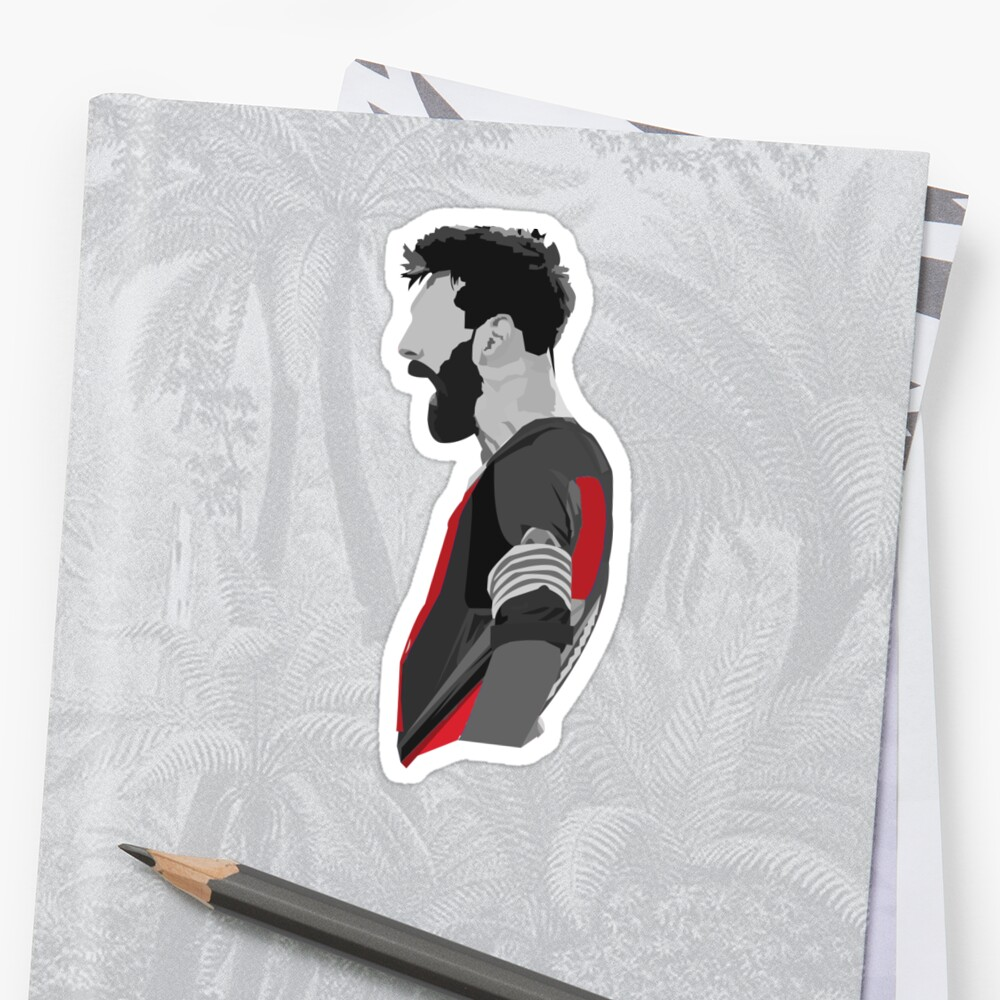 lionel-messi-sticker by cart1