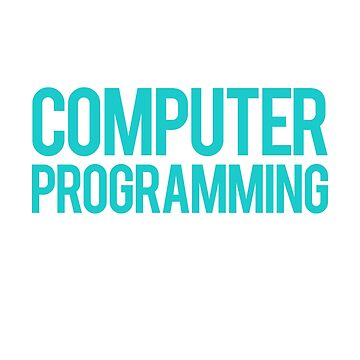 Computer Programming and 3 People Programmers by KanigMarketplac