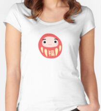 kawaii daruma - fuku T-shirt échancré
