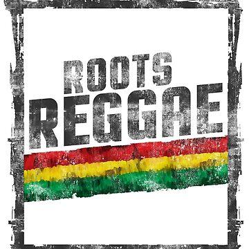 roots raggae frame von Periartwork