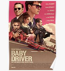 Baby Driver Movie Poster  Poster