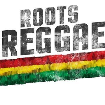 roots reggae flag von Periartwork