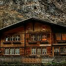 Home in the Swiss Alps by Julie Teague