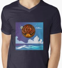 Fire And Water V-Neck T-Shirt