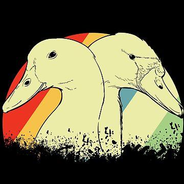 Duck duck pond by GeschenkIdee
