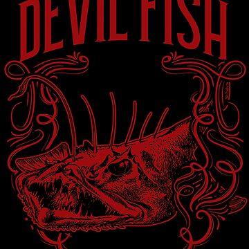 Devil fish animal by GeschenkIdee