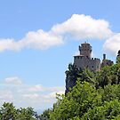 San Marino second tower the Cesta or Fratta by goceris