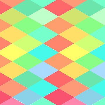 Rainbow Rhombus by grace-designs