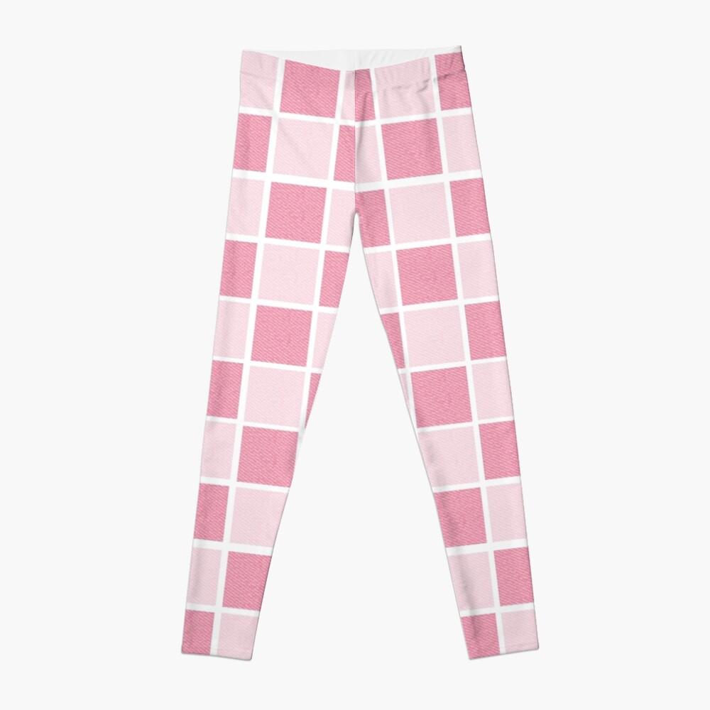 Pink checkers Leggings
