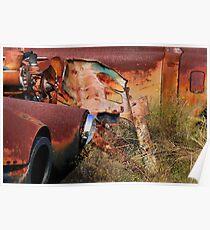 Multi Colored Rust   ( BoneYard Series ) Poster