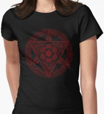 Metatron's Offering Womens Fitted T-Shirt