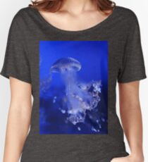 The Beauty of A Blue Jellyfish Women's Relaxed Fit T-Shirt