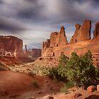 Park Avenue - Arches National Park, Utah by Kathy Weaver