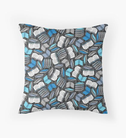 So Many Books... Throw Pillow