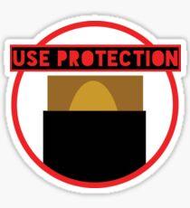 Use Protection MTG Sticker