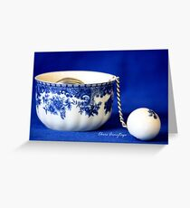 Everything Stops for Tea Greeting Card