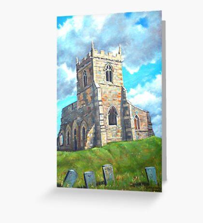 Church Ruin Greeting Card