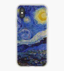Die sternenklare Nacht von Vincent van Gogh (1889) iPhone-Hülle & Cover
