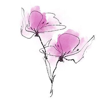 Floral II von welallmwel