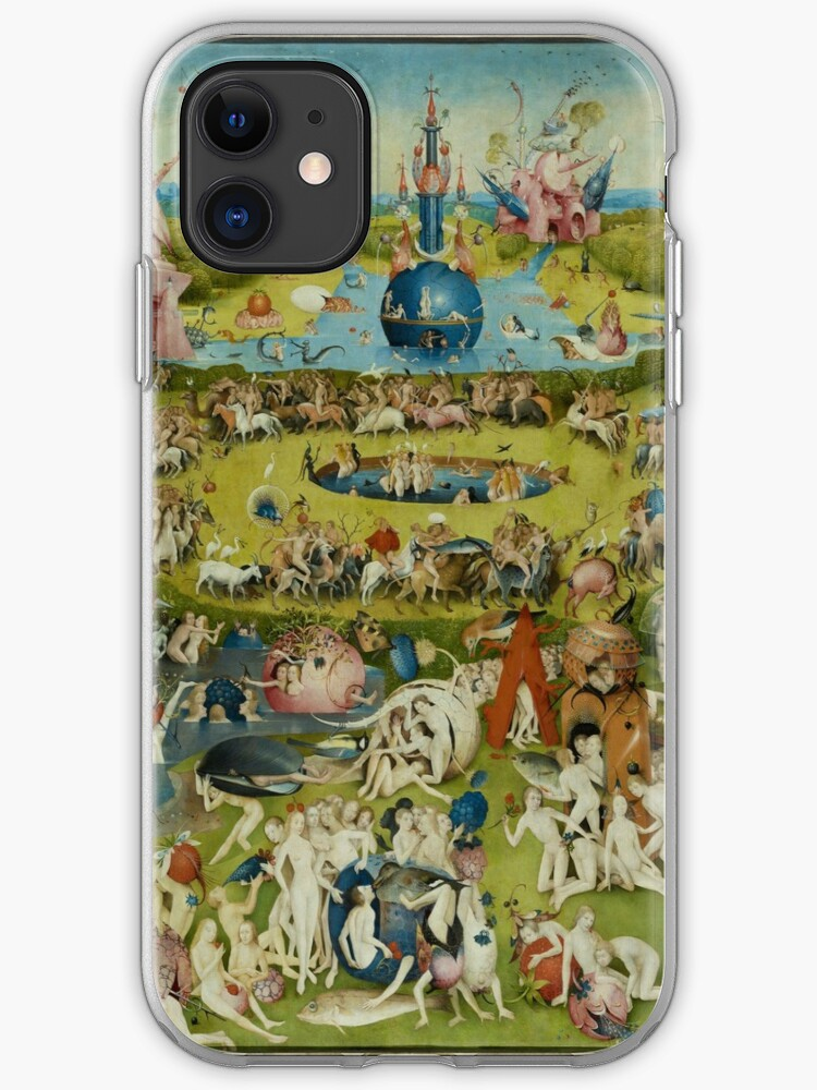 HD Hell by H. Bosch HIGH DEFINITION iphone 11 case