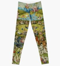 The Garden of Earthly Delights by Hieronymus Bosch (1480-1505) Leggings