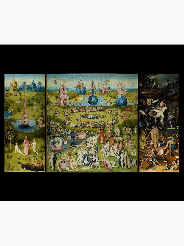 The Garden of Earthly Delights by Hieronymus Bosch (1480-1505) by allhistory