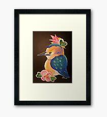 Whimsical Bird Framed Print