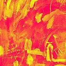 Abstract Red / Yellow by Ian Porter