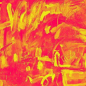 Abstract Red / Yellow by procrest