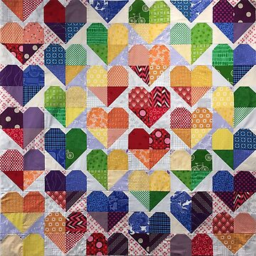 Quilt Hearts by procrest