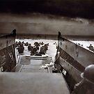 Taxis in die Hölle und zurück Zweiten Weltkrieg Normandie Beach 6. Juni 1944 von allhistory