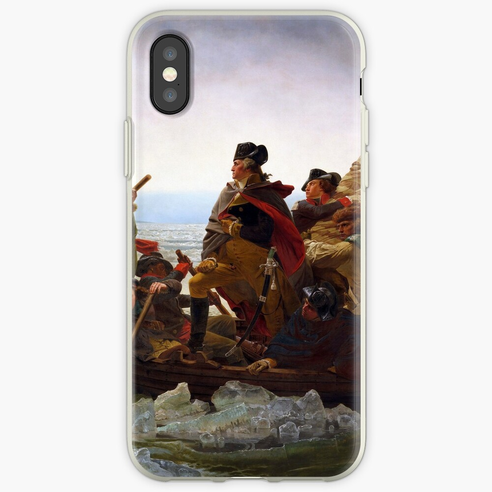 Washington Crossing the Delaware by Emanuel Leutze (1851) iPhone Case & Cover