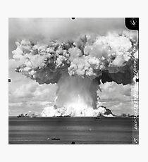 Baker-Test Atomexplosion Operation Crossroads (25. Juli 1946) Fotodruck
