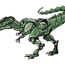Mecha-Rex by derangedhyena