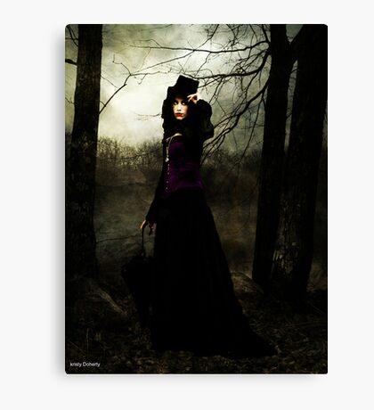 a vampires walk  Canvas Print