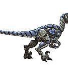 Mecha-Raptor by derangedhyena