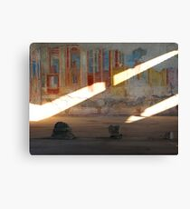 A Glimpse of the Past Canvas Print