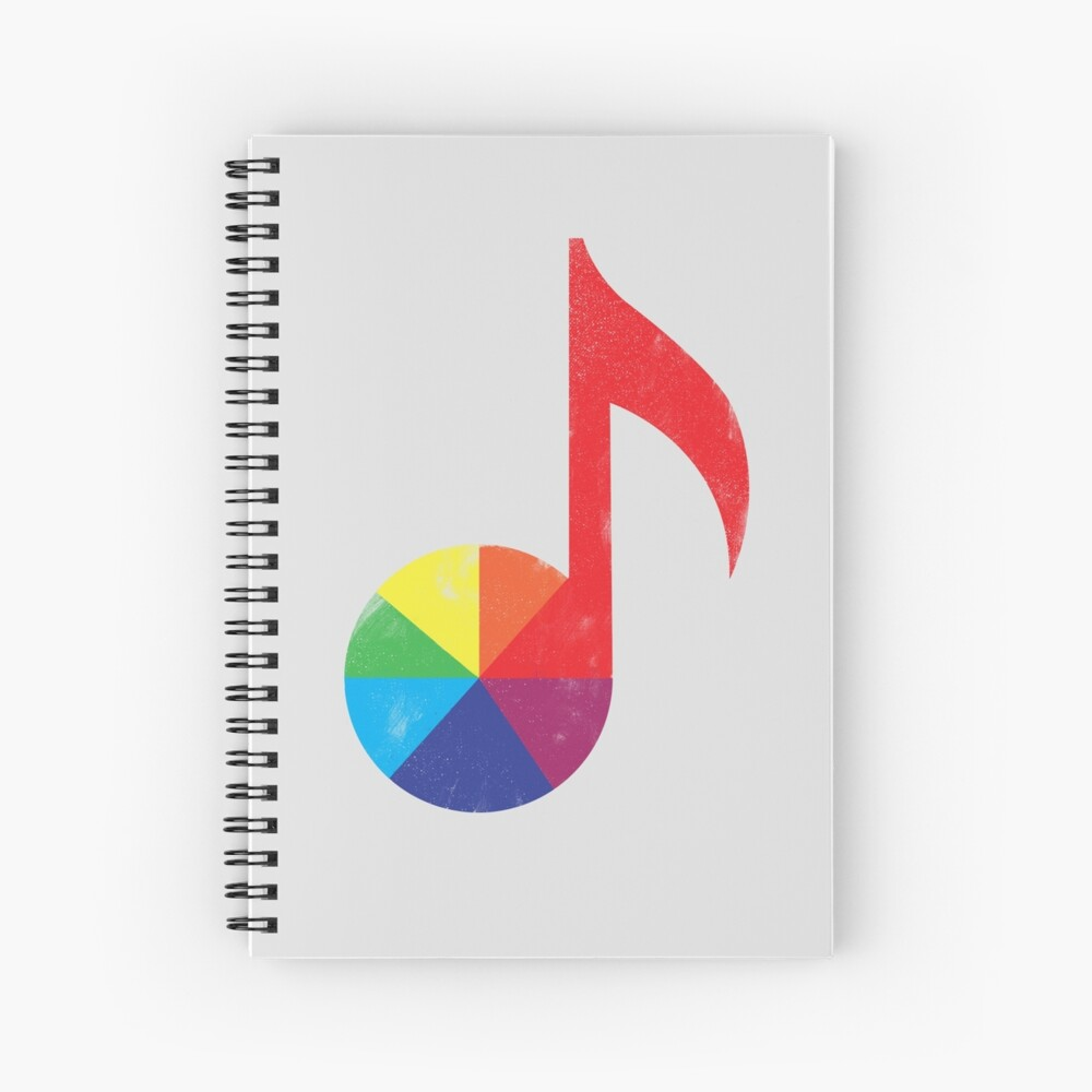 Music Theory Spiral Notebook