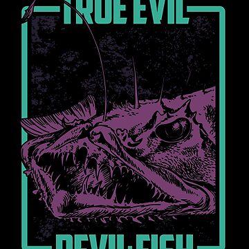 Devil fish danger by GeschenkIdee