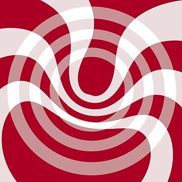 Red and fluid by TiiaVissak