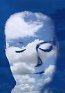 Head in the Clouds - meditating by EvaBridget